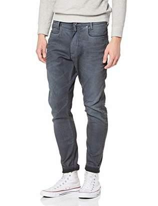 G Star Men's D-STAQ 3D Super Slim Jeans, Grey (Dk Aged Cobler 3143), W36/L36