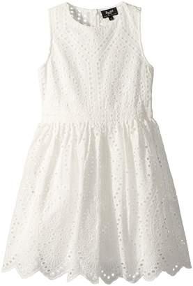 Bardot Junior Henley Broderie Dress Girl's Dress
