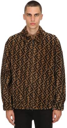 Fendi Reversible Shearling & Suede Jacket