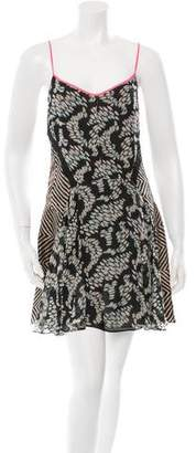 Elizabeth and James Flared Silk Dress w/ Tags
