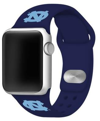 Affinity Bands North Carolina Tar Heels Silicone Sport Band for Apple Watch - BAND ONLY