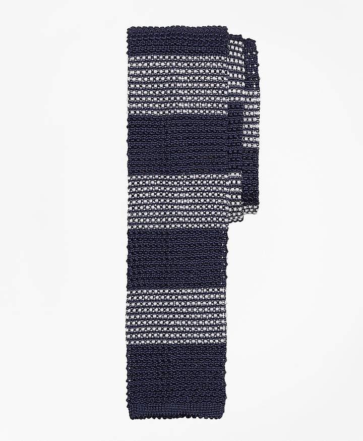 Brooks Brothers Knit Stripe Tie