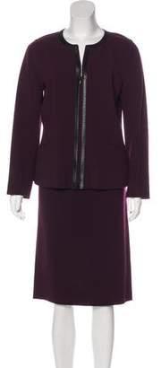 Lafayette 148 Virgin Wool Skirt Suit