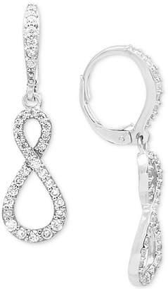 Giani Bernini Cubic Zirconia Infinity Drop Earrings in 18k Gold-Plated Sterling Silver