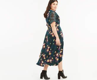 Oasis CURVE FRIEDA WRAP DRESS*