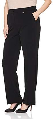 Samoon Women's Hose Tuch Lang Trousers