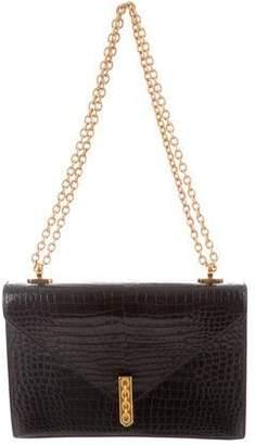 Hermes Shiny Porosus Alcazar Bag