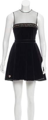Philipp Plein Sleeveless Mini Skirt w/ Tags
