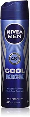 Nivea For Men Deodorant - Cool Kick (150 ML) (Pack Of 2)