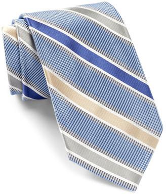 ROBERT TALBOTT Best Of Class Stripe Silk Tie $155 thestylecure.com
