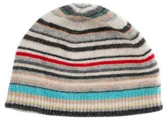 Paul Smith Stripe Knit Beanie