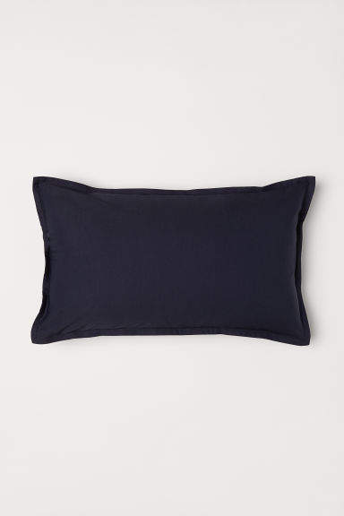 H&M - Solid-color Cushion Cover - Blue