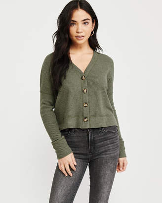 Abercrombie & Fitch Cozy Button-Up Sweater