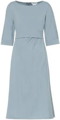 Max Mara S Primo cotton-blend midi dress