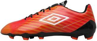 1fce643da9c1 Umbro Mens Velocita II Pro HG Football Boots Grenadine White Lime Green  Black