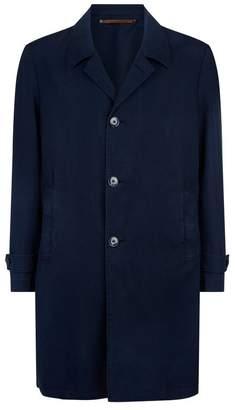 Harrods Single Breasted Raincoat
