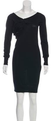 Armani Jeans Long Sleeve Sweater Dress