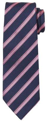 Banana Republic Striped Silk-Wool Nanotex® Tie