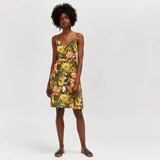 Warehouse Toucan Print Cami Dress