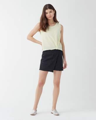 Splendid Architect Faux Wrap Skirt
