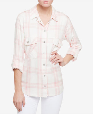 Sanctuary Plaid Boyfriend Shirt $79 thestylecure.com
