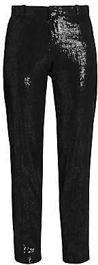 Each X Other Women's Sequin Tuxedo Pants