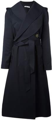 J.W.Anderson crossed front belted coat