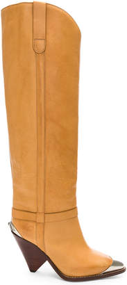Isabel Marant Leather Lenskee Boots