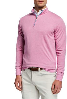 Peter Millar Men's Crown Comfort Interlock Zip Sweater