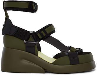 089c3824a5 Camper Lab Platform Strappy Velcro Sandal