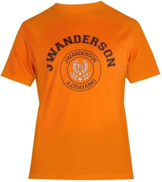 J.W.Anderson Varsity logo-print cotton T-shirt