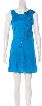 Marc by Marc Jacobs Ruffle-Accented Mini Dress