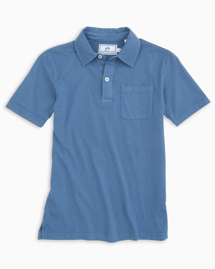 Southern Tide Boys Island Road Jersey Polo