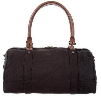 Lanvin Leather-Trimmed Kentucky Bag