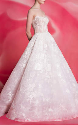 Isa Belle Isabelle Armstrong Maggie Lace Ballgown