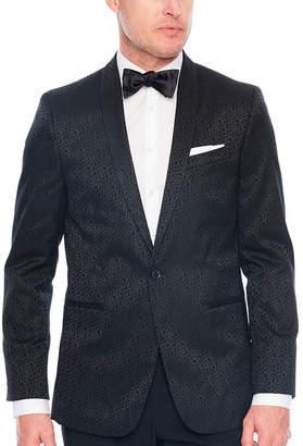 Jf J.Ferrar Floral Classic Fit Tuxedo Jacket
