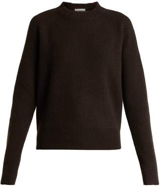 The Row Bowie ribbed-knit cashmere sweater