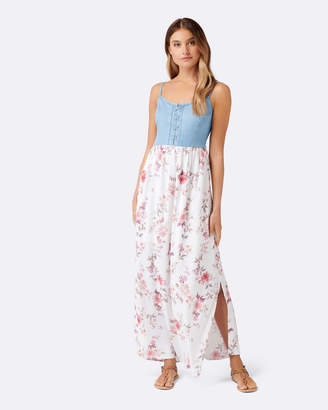 Forever New Grace Printed Two In One Maxi Dress