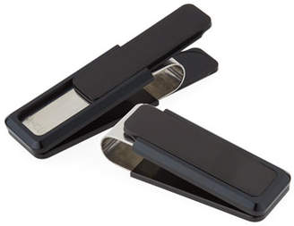 M Clip Black-Plated Aluminum-Inset Money Clip