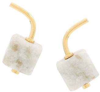 Marni marble earrings
