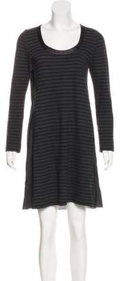 Sacai Luck Stripe Knit Dress