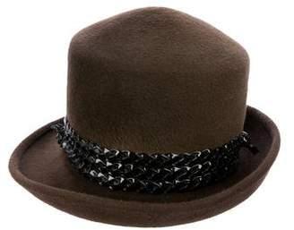Philip Treacy Brimmed Felt Hat