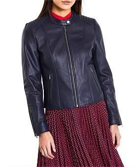Iman Marcs Women Leather Jacket