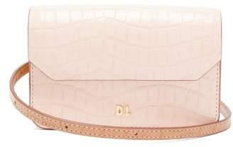 Danse Lente Gigi Xs Crocodile Effect Leather Cross Body Bag - Womens - Pink Multi