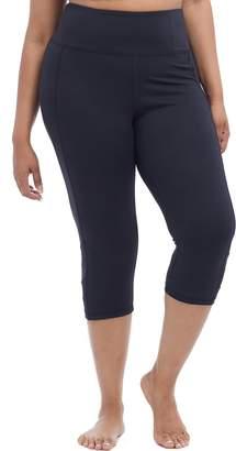Plus Size Balance Collection High-Rise Capri Leggings