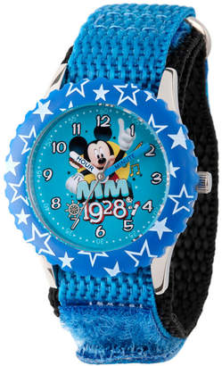 DISNEY MICKEY MOUSE Disney Mickey Mouse Boys Blue Strap Watch-Wds000185