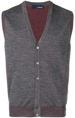 Lardini sleeveless cardigan