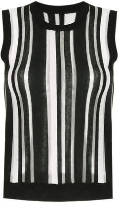 GUILD PRIME striped sleeveless top