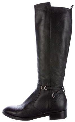 Balenciaga Balenciaga Buckle-Accented Knee-High Boots
