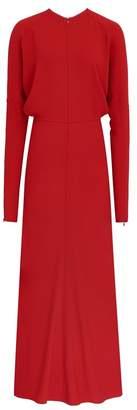 Victoria Beckham Longsleeve Dolman Midi Dress